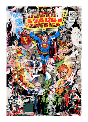 THE HEROES BY MR. BRAINWASH