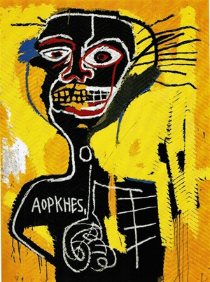 CABEZA 1982 BY JEAN-MICHEL BASQUIAT