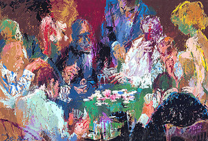 INTERNATIONAL POKER BY LEROY NEIMAN