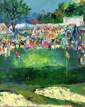 BETHPAGE BLACK COURSE 2002 U.S. BY LEROY NEIMAN