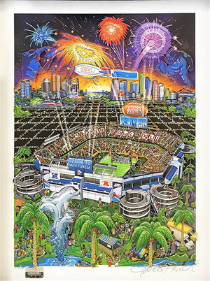SUPER BOWL XLI BY CHARLES FAZZINO