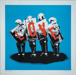 LOVE COPS (BLUE) BY MARTIN WHATSON