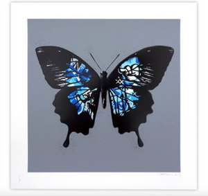 BUTTERFLY (BLUE) BY MARTIN WHATSON