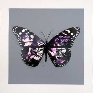BUTTERFLY (PURPLE) BY MARTIN WHATSON