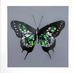 BUTTERFLY (GREEN) BY MARTIN WHATSON