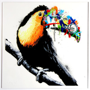 TOUCAN (HAND FINISHED) BY MARTIN WHATSON