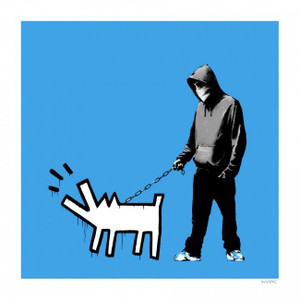 CHOOSE YOUR WEAPON (SKY BLUE) BY BANKSY