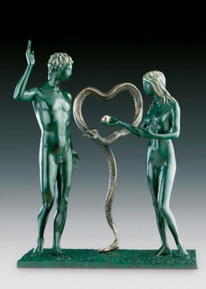ADAM AND EVE BY SALVADOR DALI