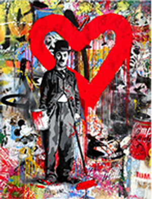 CHAPLIN (ORIGINAL) BY MR. BRAINWASH