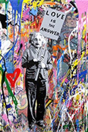 EINSTEIN (ORIGINAL) BY MR. BRAINWASH