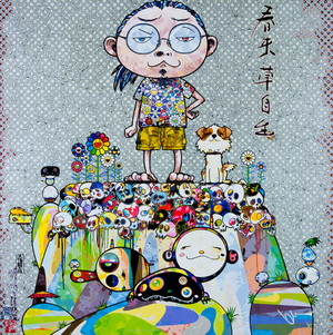 WITH EYES BY TAKASHI MURAKAMI