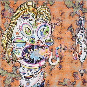 HOMAGE TO FRANCIS BACON NO. 3  BY TAKASHI MURAKAMI