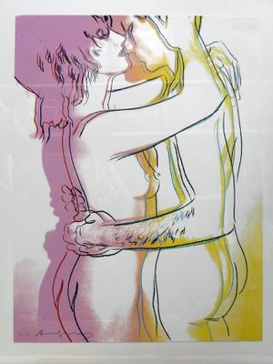 LOVE FS II.312 BY ANDY WARHOL