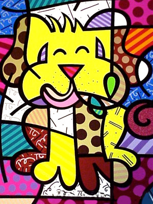 BEST FRIEND BY ROMERO BRITTO