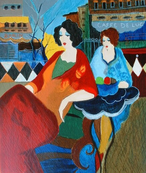 CAFE DE LUC BY ITZCHAK TARKAY