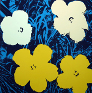 FLOWERS 11.72 BY ANDY WARHOL FOR SUNDAY B. MORNING