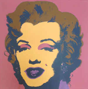 MARILYN MONROE 11.27 BY ANDY WARHOL FOR SUNDAY B. MORNING