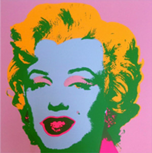 MARILYN MONROE 11.28 BY ANDY WARHOL FOR SUNDAY B. MORNING