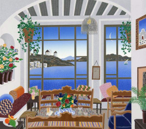AEGEAN BAR BY THOMAS MCKNIGHT