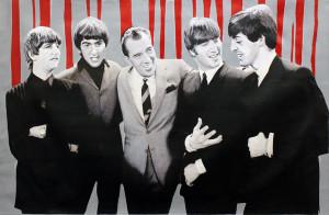 THE BEATLES DEBUT ON ED SULLIVAN 1964 BY STEVE KAUFMAN