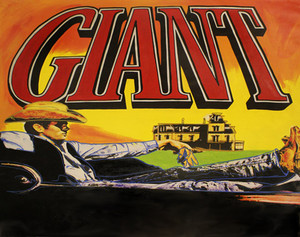 JAMES DEAN - GIANT BY STEVE KAUFMAN