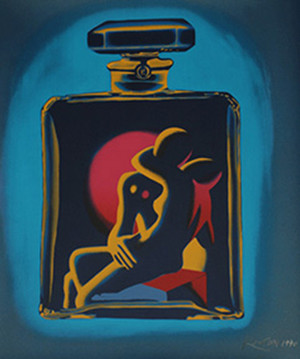 KOSTABI #5 (AQUA) BY MARK KOSTABI