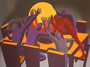 PUSH BY MARK KOSTABI