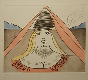 THE LADY DULCINEA BY SALVADOR DALI