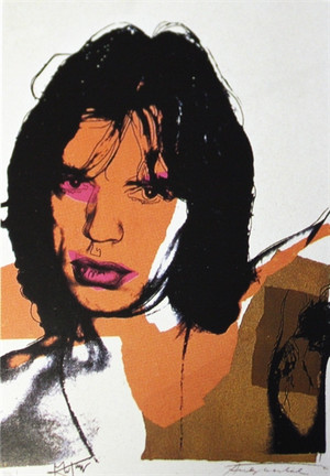 MICK JAGGER FS II.141 BY ANDY WARHOL