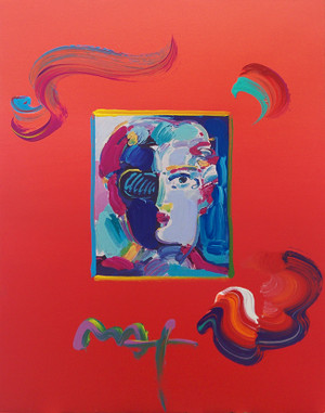 FAUVE (OVERPAINT) BY PETER MAX