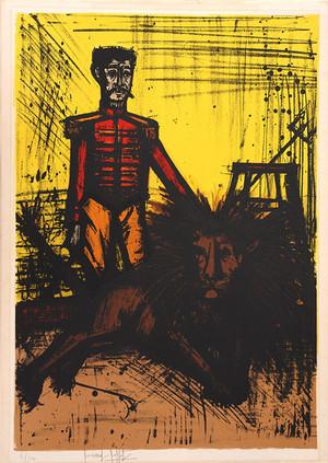 THE LION TAMER (LE DOMPTEUR) BY BERNARD BUFFET