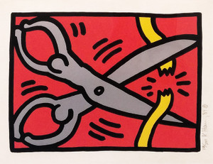 POP SHOP III (2) BY KEITH HARING