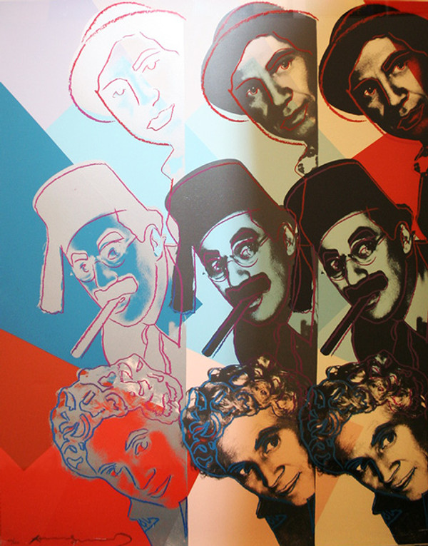 THE MARX BROTHERS FS II.232 BY ANDY WARHOL