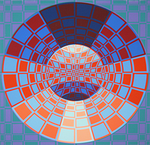 UNTITLED 2 BY VICTOR VASARELY