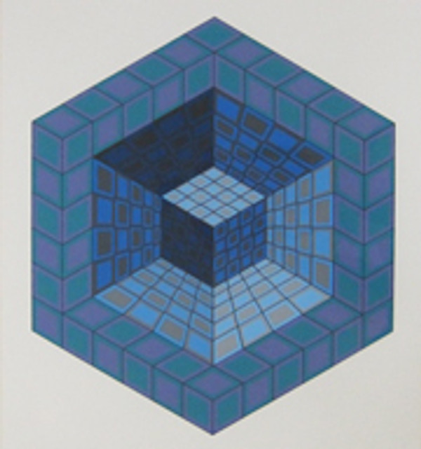 UNTITLED 3 BY VICTOR VASARELY