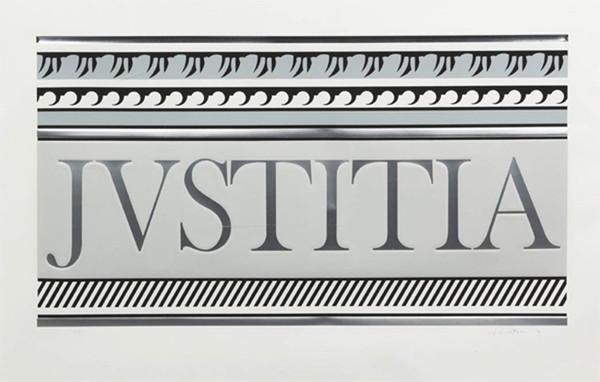 ENTABLATURE XA BY ROY LICHTENSTEIN