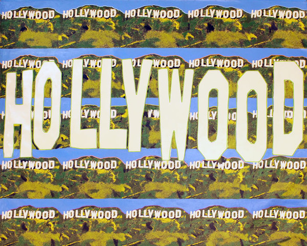 HOLLYWOOD SIGN - 25 SIGNS PLUS ONE (LARGE) BY STEVE KAUFMAN