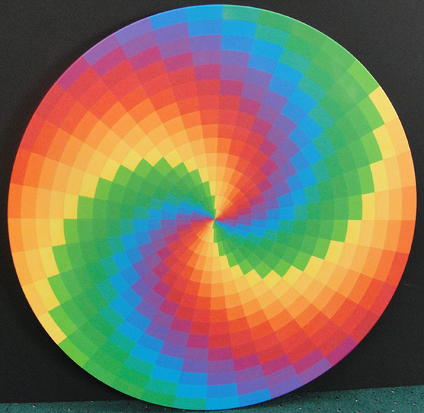 323 SPIRAL RAINBOW BY STAN SLUTSKY
