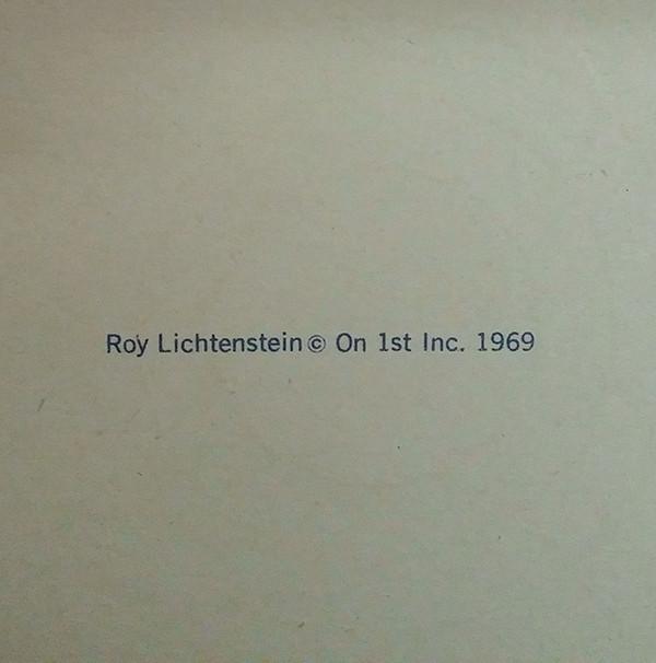 PLATE BY ROY LICHTENSTEIN