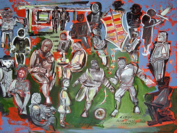 ESTUDO PARA JOGOS INFANTIS BY PEDRO LAZARO