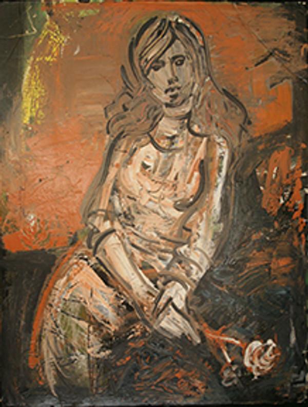 WOMAN BY PEDRO LAZARO