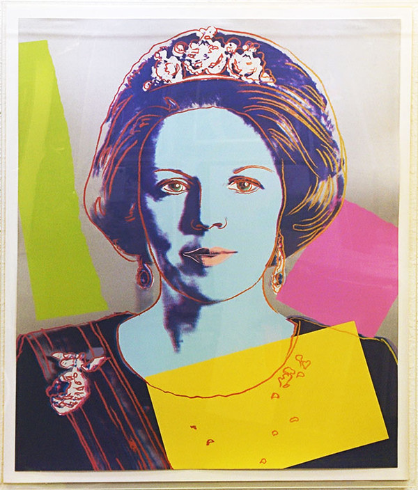 QUEEN BEATRIX FS II.340 BY ANDY WARHOL