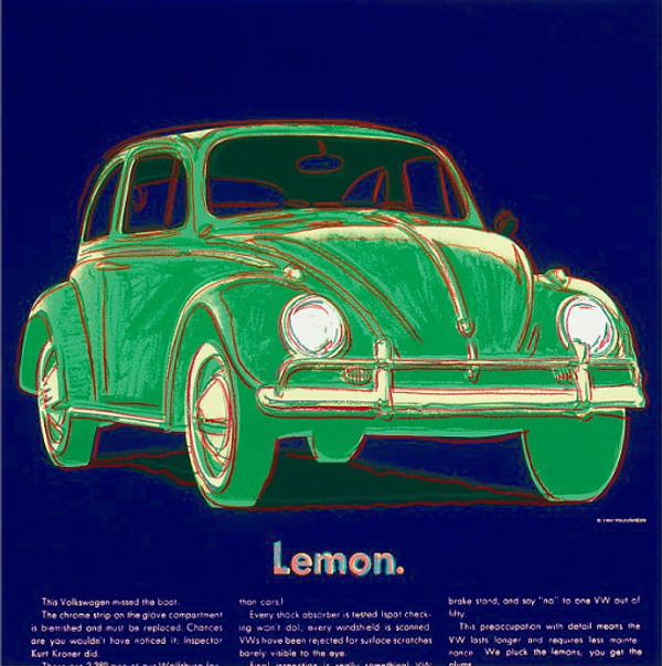 ADS: VOLKSWAGEN FS II.358 BY ANDY WARHOL