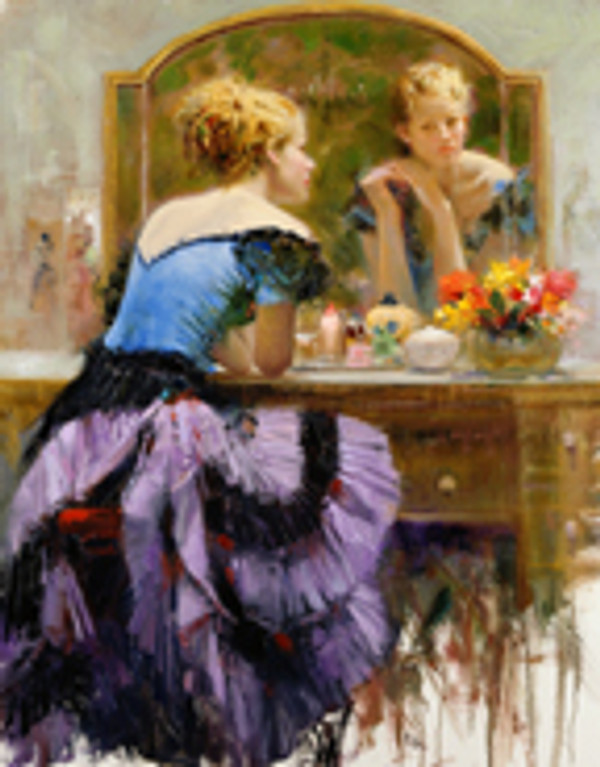 BY THE MIRROR BY PINO