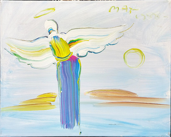 ANGEL ORIGINAL (1980's) BY PETER MAX