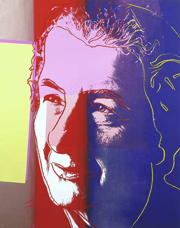 GOLDA MEIR FS II.233 (ARTIST PROOF) BY ANDY WARHOL