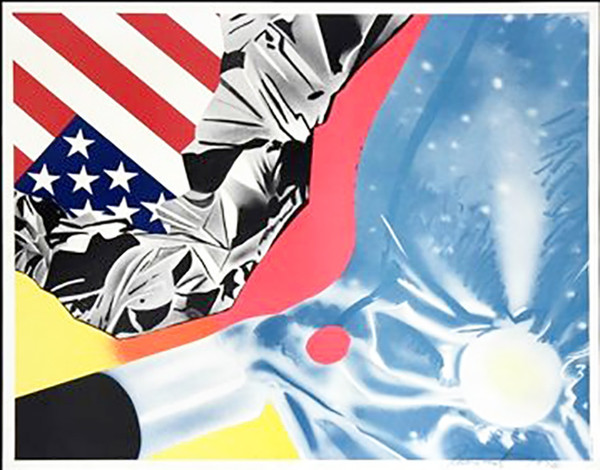 UNTITLED BY JAMES ROSENQUIST
