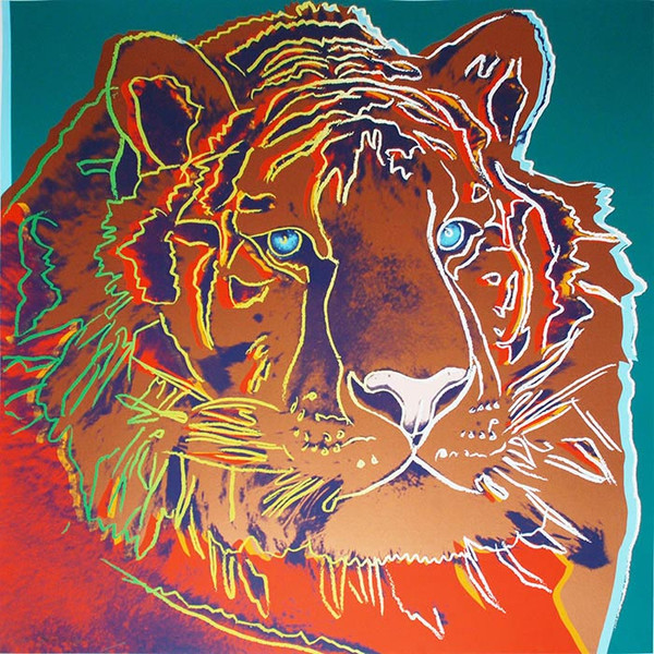 ENDANGERED SPECIES: SIBERIAN TIGER FS II.297 BY ANDY WARHOL