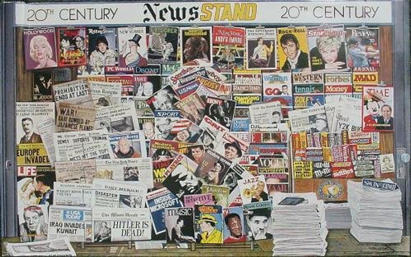 20TH CENTURY NEWS STAND BY KEN KEELEY