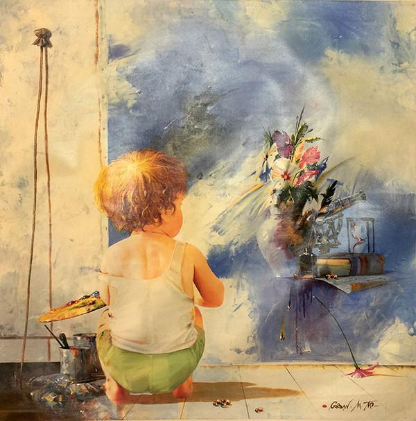 BOY IN STUDIO BY MICHAEL GORBAN